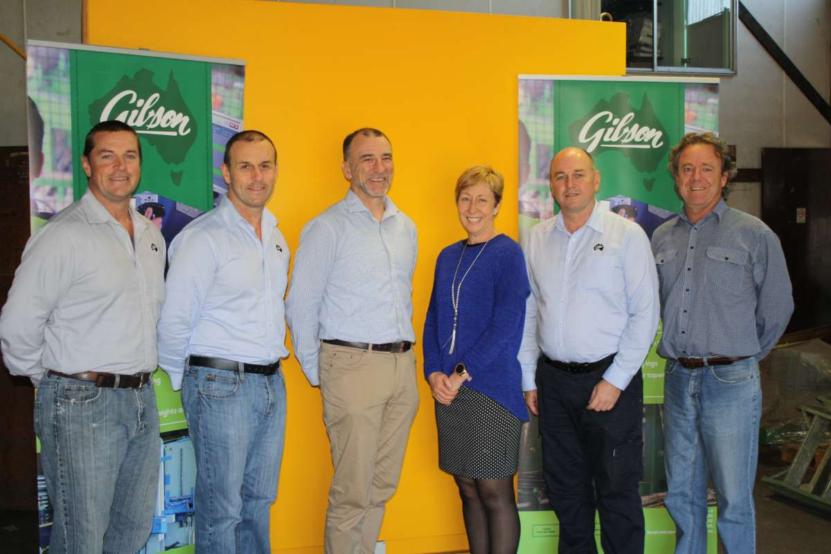 The team at AE Gibson and Sons